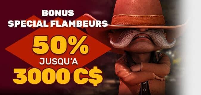 Bonus Special Flambeurs