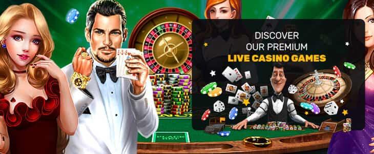 Jeux en direct du casino PlayAmo